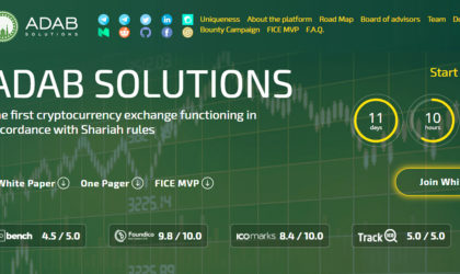 ADAB Solutions launches Shariah compliant Islamic Crypto Exchange for trading
