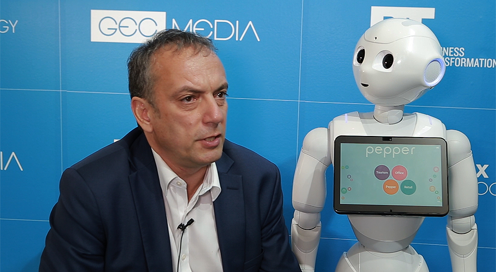 Nicolas Boudot from Softbank explains the robot business model