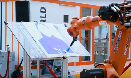 DGWorld demonstrates automation and robotic solutions