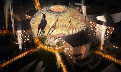 250 laser projectors from Christie to illuminate 130M Al Wasl dome at Expo 2020