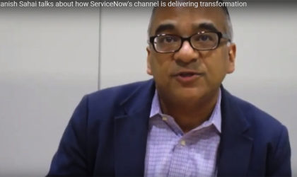 Avanish Sahai talks about how ServiceNow's channel is delivering transformation