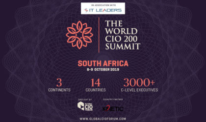 Global CIO Forum partners with Kinetic International to host World CIO 200- South Africa