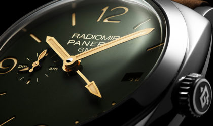 Military precision in Radiomir's wrist watch collection