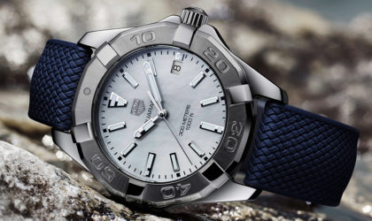 Tag Heuer releases new Aquaracer sports models for women