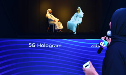 Live 360 degree 3D hologram made possible by 5G streaming from du and ZTE