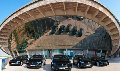 ekar introduces Tesla electric vehicles for hire-share from Masadar