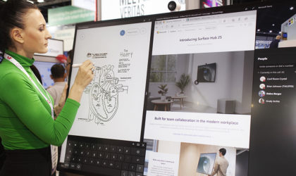 Microsoft releases 50-inch Surface Hub 2S to boost team work and collaboration