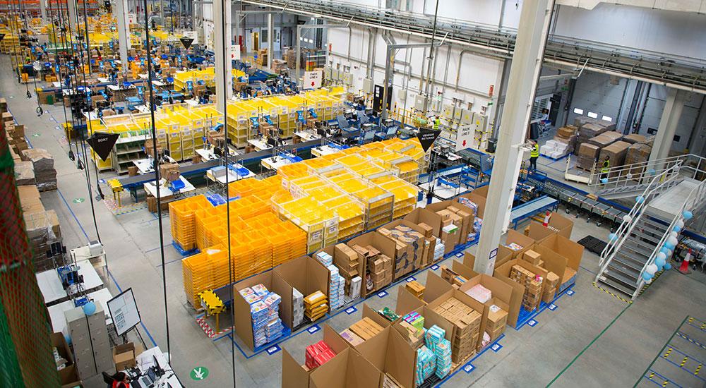 Amazon's DXB3 fulfilment centre in Dubai South