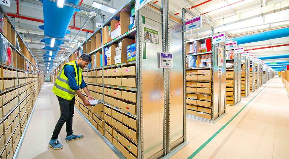 Amazon's DXB3, fulfilment centre in Dubai South