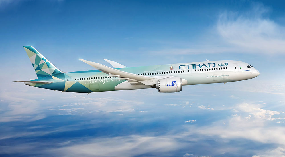 Etihad and Boeing announce global partnership