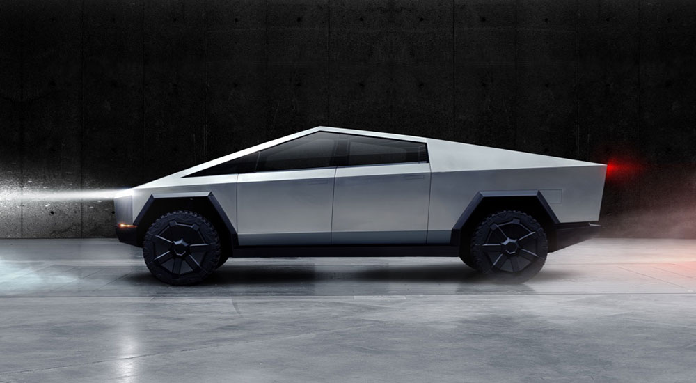 Tesla launches an electric pickup vehicle called Cybertruck