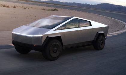 Tesla's electric Cybertruck with 500 mile range disrupting pickup segment