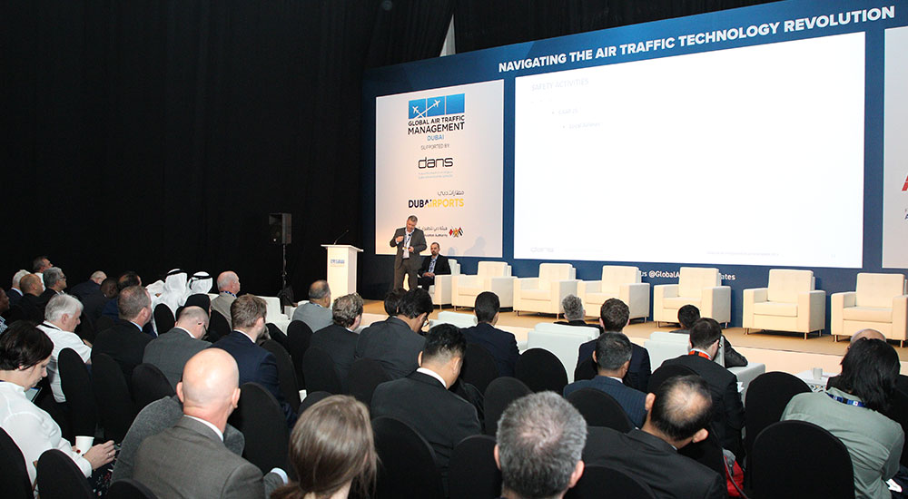 Global Air Traffic Management, GATM, conference held at Dubai Airshow 2019