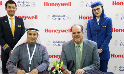 Honeywell to maintain Saudi Airlines aircraft APU's driving availability, cost reduction
