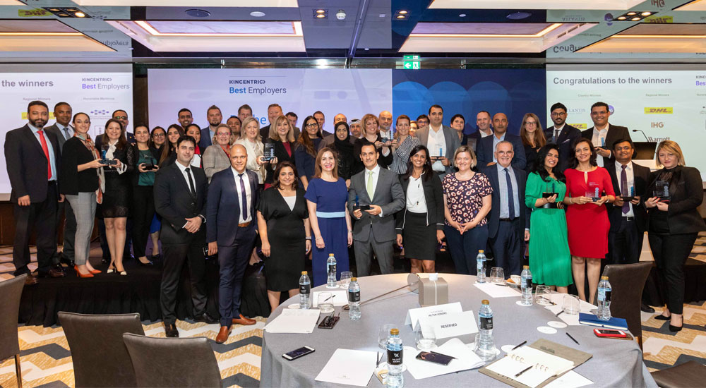 Kincentric announces 10 Best Employers in MENA for 2019