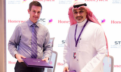 STC partners with Honeywell to transform mobile based business services