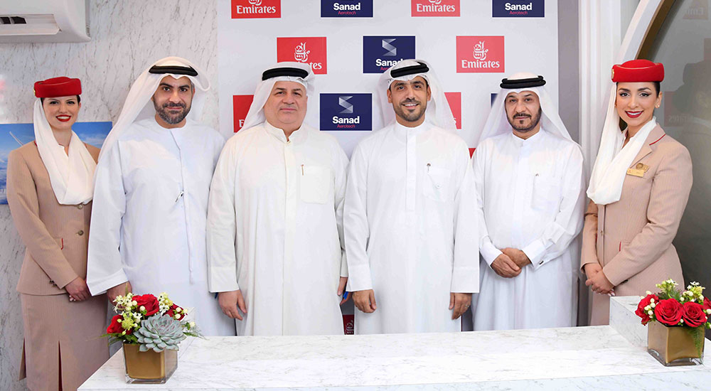 Sanad and Emirates Engine Maintenance Centre collaborate to deliver MRO services