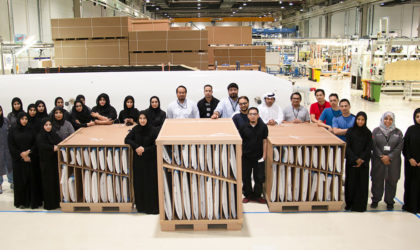 Mubadala owned Strata begins parts manufacture for Boeing 777X