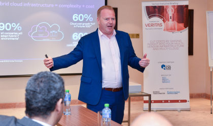 Veritas Aptare briefing continues into Kuwait attracting top IT decision makers