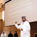 Etisalat at the MoE workshop , Utilising future studies in development plans
