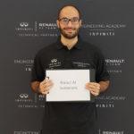 INFINITI Engineering Academy 2019 Middle East winner, Raoul Al Samarani