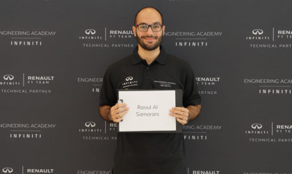 Raoul Al Samarani, winner INFINITI Engineering Academy 2019, to work in Europe