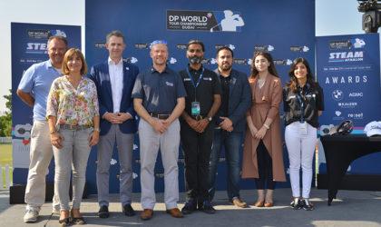 AI golf robot champion crowned at DP World Tour Championship STEAMathalon