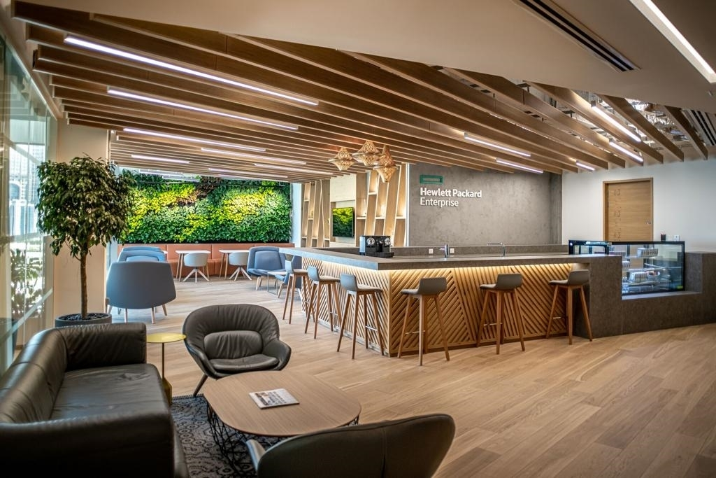 Linesight delivers new Hewlett Packard Enterprise office fit-out in Dubai
