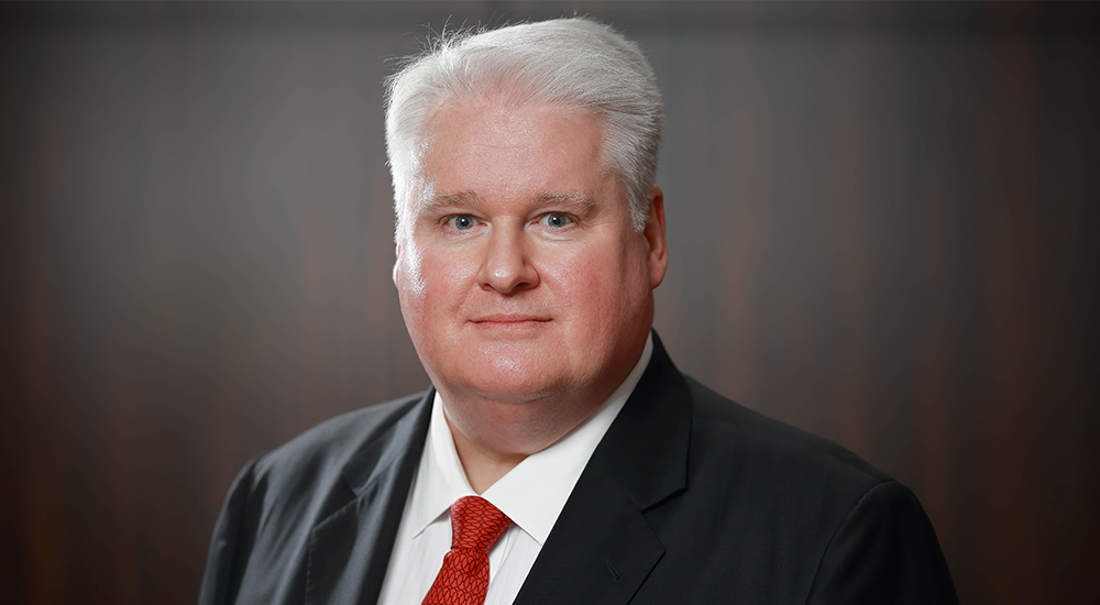 Michael Armstrong, FCA and ICAEW Regional Director for the Middle East, Africa and South Asia