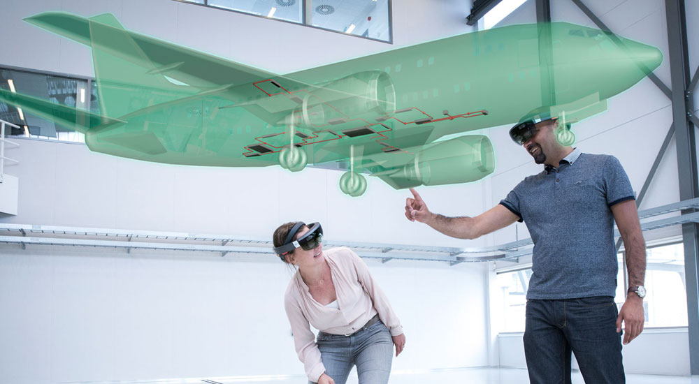 Augmented and mixed reality in MRO