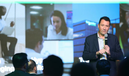 Schneider Electric presents EcoStruxure during Innovation Talk for buildings, hotels