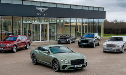 New models and high performance engine delivers 5% rise in Bentley Motors' 2019 sales