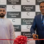 (Left to right) Abdulla Al Abdulla, COO of Central Hotels with Basel Eshak Butrs, General Manager of C Central Resort The Palm and Royal Central The Palm
