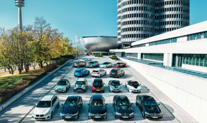 BMW reaches electromobility milestone delivering half a million electrified cars
