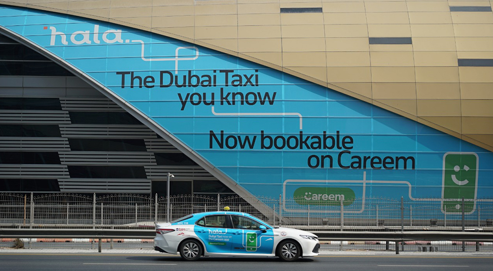RTA's taxi booking to transition to Hala