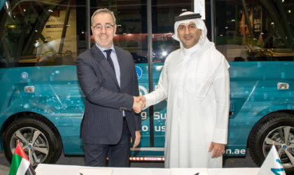 ION and Navya partner to deliver autonomous transportation in UAE and GCC