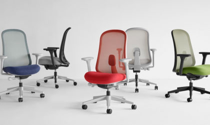 Herman Miller launches 97% recyclable, 12 year warranty Lino chair in ME