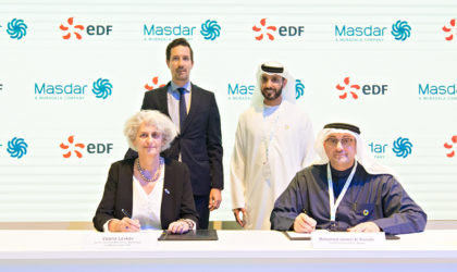 Masdar and EDF Group JV to explore opportunities in solar power and energy efficiency