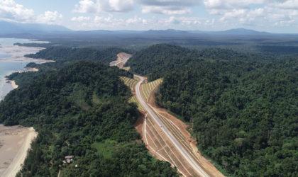 Malaysia's 786 km Pan Borneo Highway Sarawak integrates Bentley's BIM with GIS
