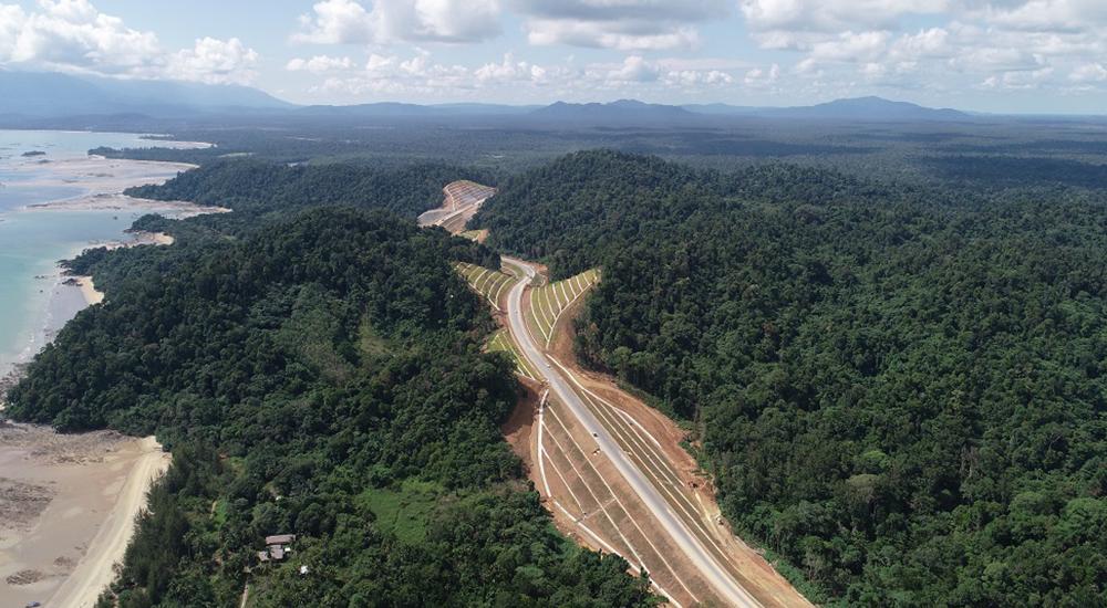 The Pan Borneo Highway Sarawak