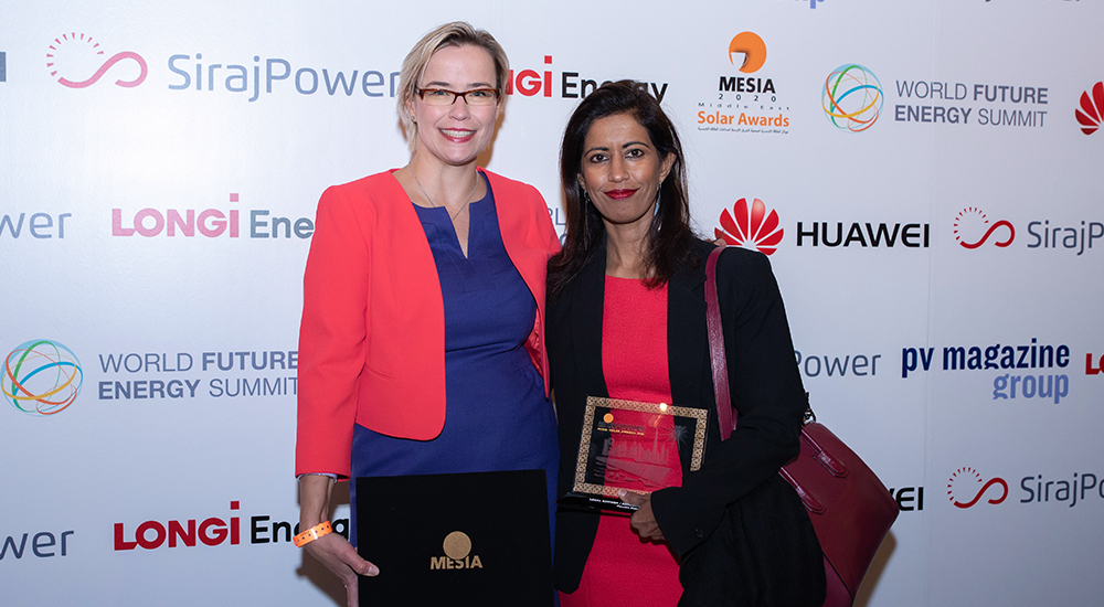 Pinsent Masons declared Legal Advisor of the Year at MESIA Awards for solar park work