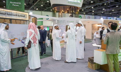 At EcoWASTE, Tadweer signs agreements to use the latest waste management technologies