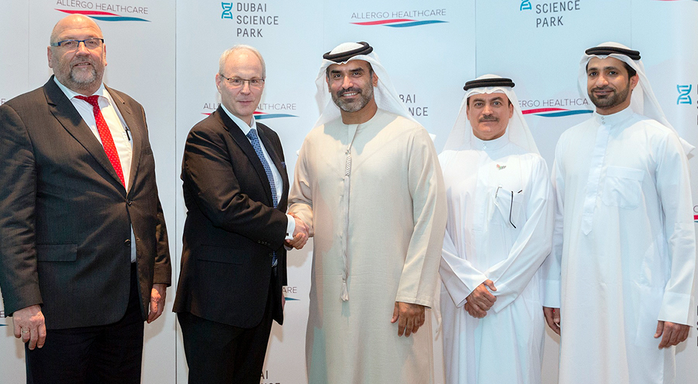 Dubai Science Park welcomes Allergo Healthcare to business community