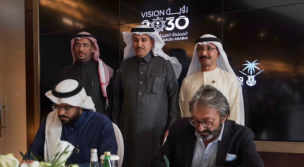 Saudi Arabia commission's national hyperloop study in partnership with Virgin Hyperloop One.