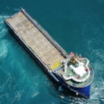 One of P&O Maritime Logistics' vessels