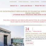Dubai Financial Services Authority, DFSA