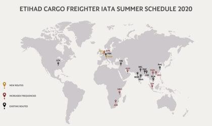 Etihad Cargo expanding capacity to Europe, HK, COVID-19 constrained markets