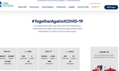 Global CIO Forum launches a special COVID-19 section for CxOs