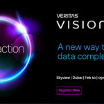 Veritas hosts its Vision Solution Day.
