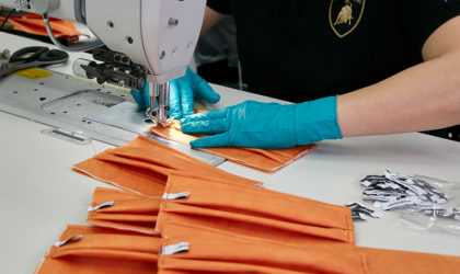 Italy's Lamborghini starts production of 3D printed medical shields, surgical masks